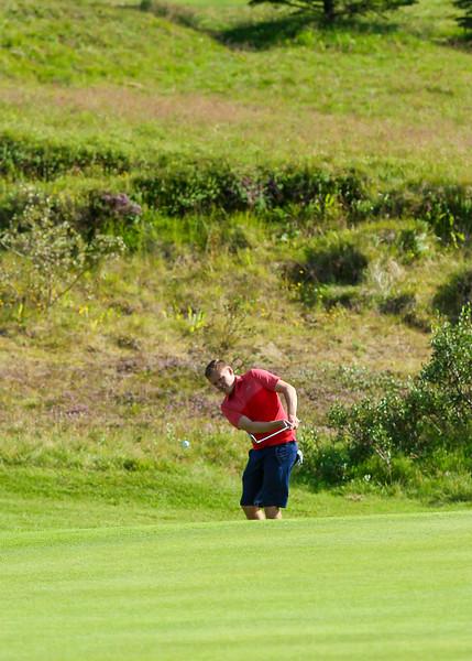 GR, Arnar Snær Hákonarson Íslandsmót í golfi 2019 - Grafarholt 2. keppnisdagur Mynd: seth@golf.is