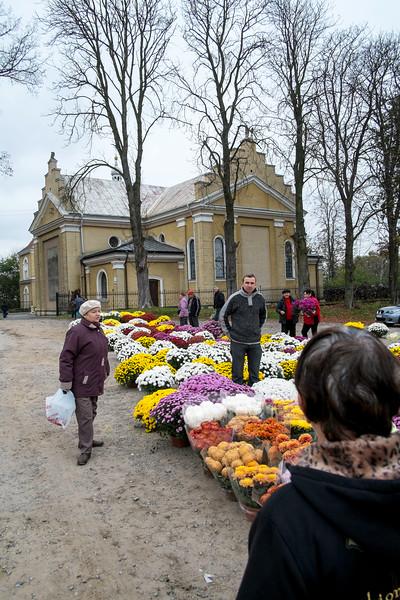 Celebrating All Saints Day, Wiazownica,  Poland
