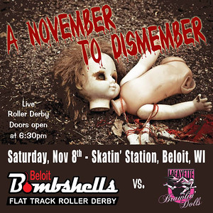 BS vs Lafayette Brawlin Dolls (11-08-14)
