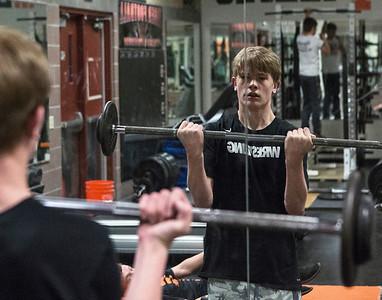 2018 EHS Wrestling Workout