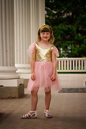 Fancy That Goodie Shop pink glitter dress
