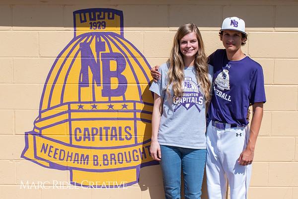 Broughton varsity baseball vs Sanderson. April 24, 2019. 750_0203