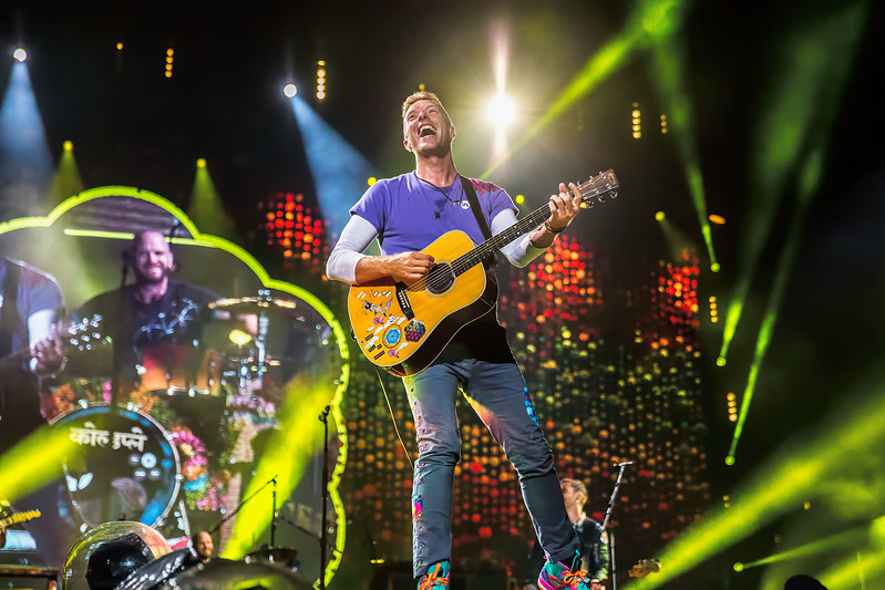Coldplay at CenturyLink Field in Seattle