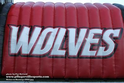 180927 Weiss Wolves vs Bastrop Bears