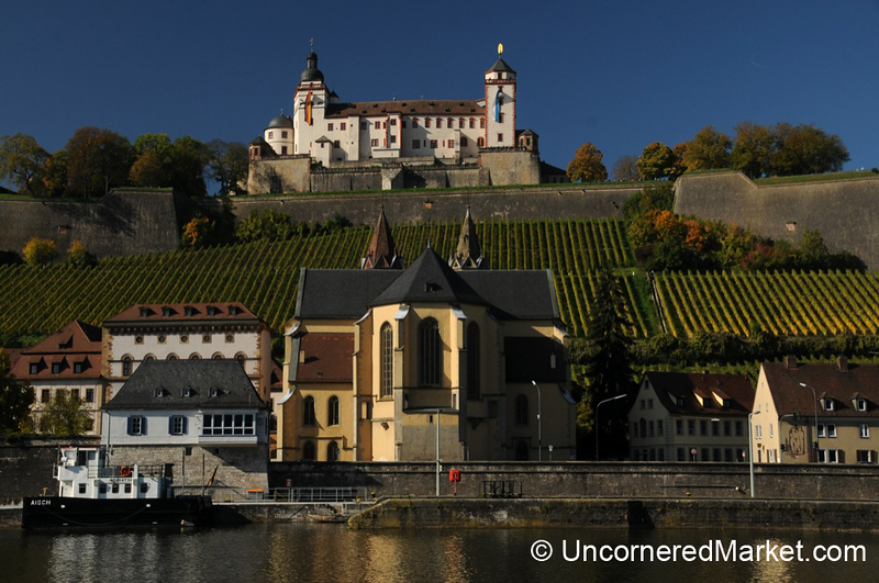 Fortress Marienberg and the Main River - Wurzburg, Germany