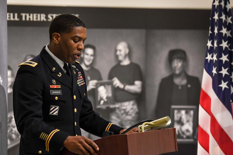 Lt. Col Patrick McGrath Promotion Ceremony