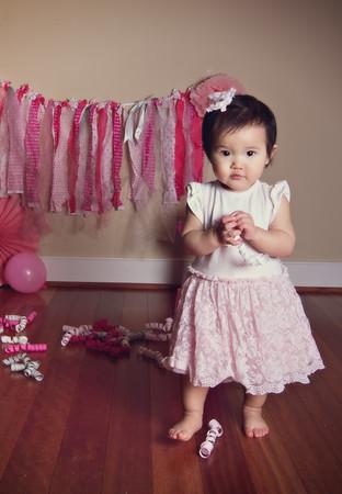 Abrielle's First Birthday