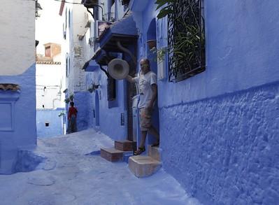Марокко. Шефшауэн,  Фес, Касабланка, Танжер