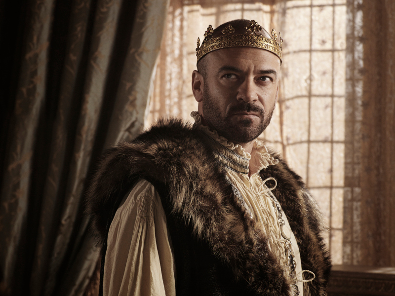 . Pictured: Alan Van Sprang as King Henry II -- Photo: Mathieu Young/The CW -- © 2013 The CW Network, LLC.