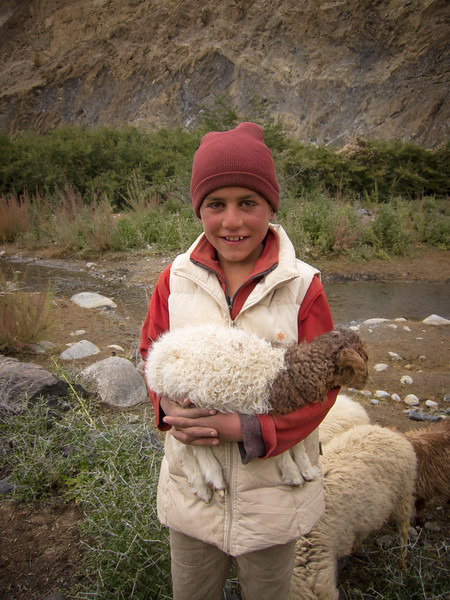 Genevieve Hathaway_Shimshal_Kutch Festival_young boy and his sheep.jpg