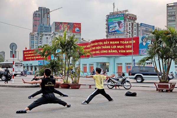 Gymnastique à Ho Chi Minh Ville
