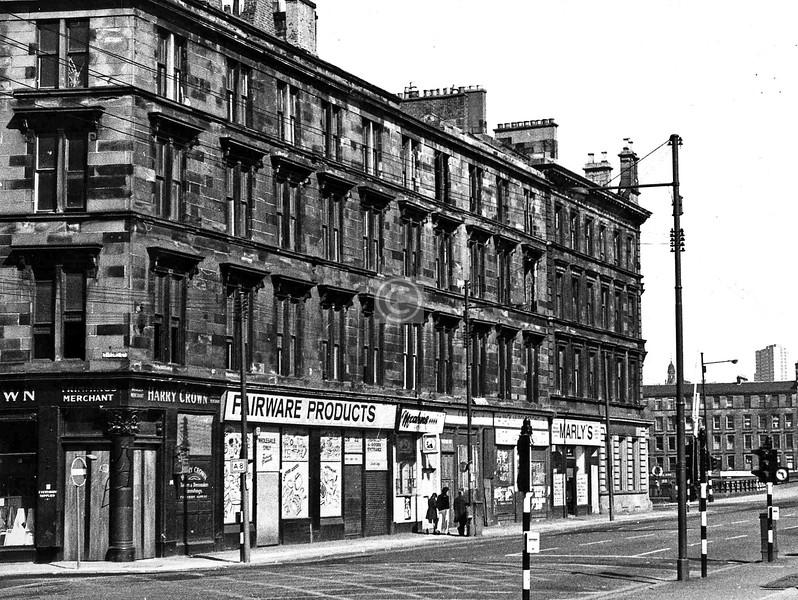Gorbals St, west side north of Oxford St.    April 1973
