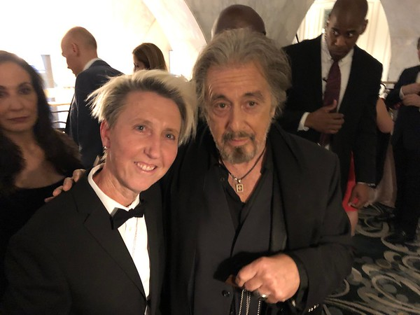American Icon Awards with Al Pacino - Quincy Jones - Robert De Niro - Sylvester Stallone - David Foster - Robin Thicke - Marlo Thomas - Evander Holyfield - Kate Mesta Brand Official - American Icon Tag - Beverly Wilshire Hotel - Hair by British Hair Compa