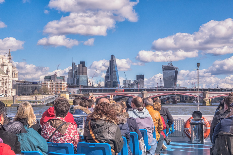 Boat trip to Greenwich