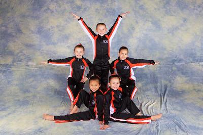 Team 2014  - Girls JO Level 5