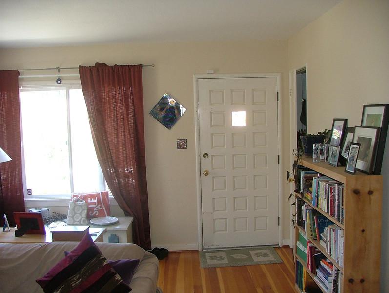 front door/living room