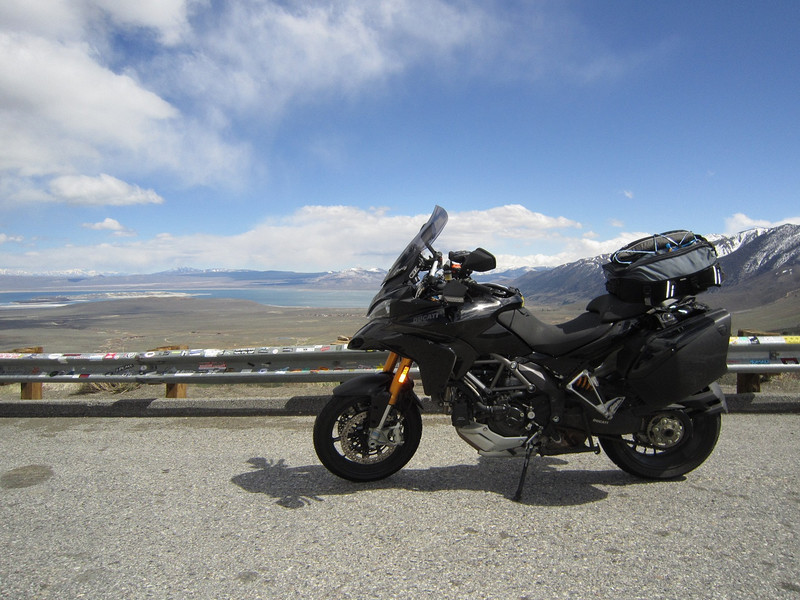 Spring trip 2010 by Ducati.MS member MartyS - Mono Lake overlook, California