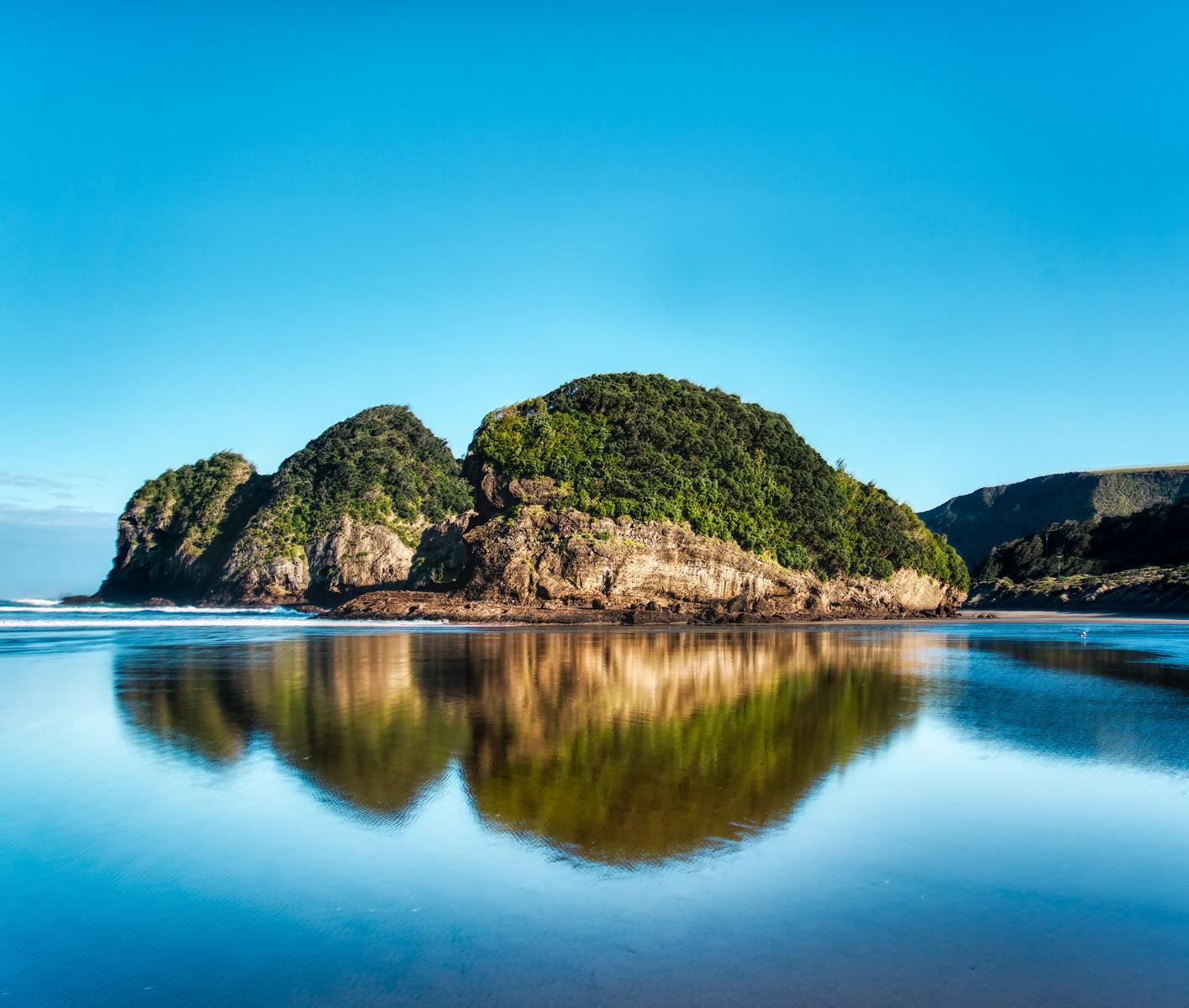 North Island Reflection