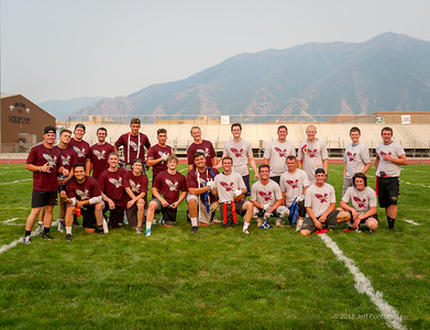 Alumni Maroon and Gold Flag Football Game 2018