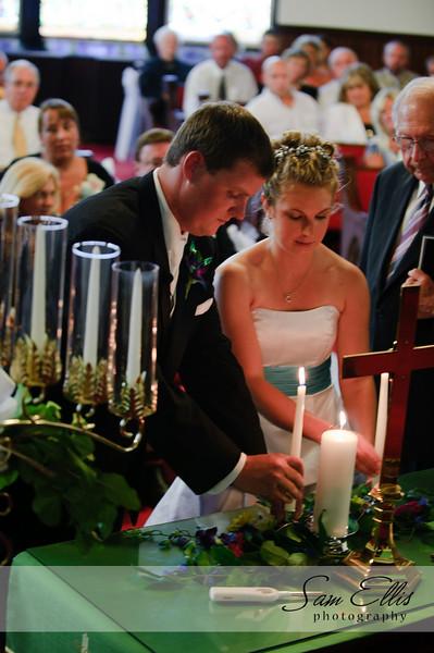Lindsay and Jeremey ceremony