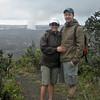 Maura and Ian at Volcano