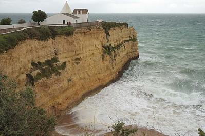 At and from Capela da Nossa Senhora da Rocha : on a stormy day