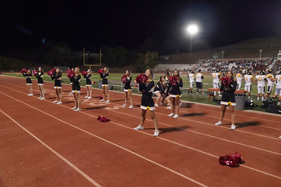 181013 GHS VARSITY AND JV CHEERLEADERS (MONTE VISTA GAME)