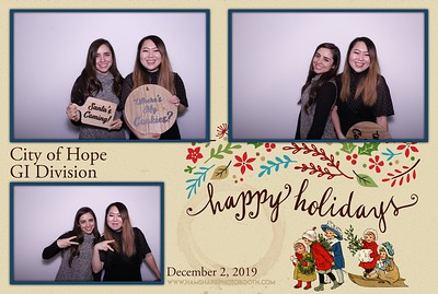City of Hope GI Division Holiday Party 2019