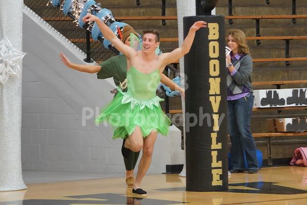 BHS Basketball Homecoming 2014-2015