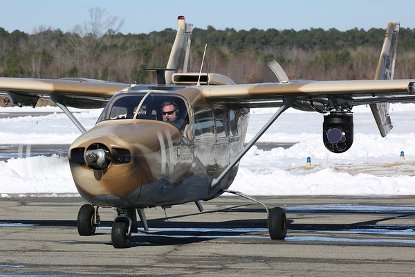 "Skymaster Captial Group 1967 Cessna O-2A ""Skymaster"", Norfolk, 08Jan18"