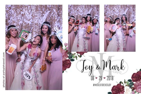 Mark & Joy's Wedding (Magic Mirror Photo Booth)