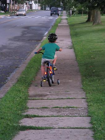 2011 Riding bike