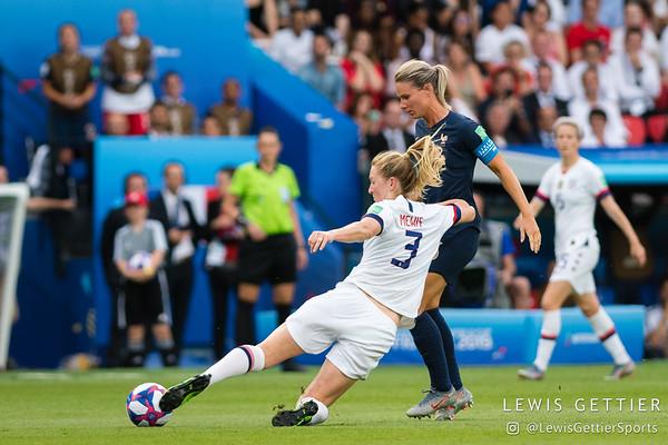 USWNT vs France 6-28-2019