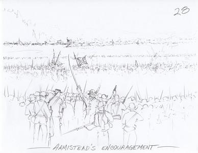 Gettysburg Reenactment Sketches