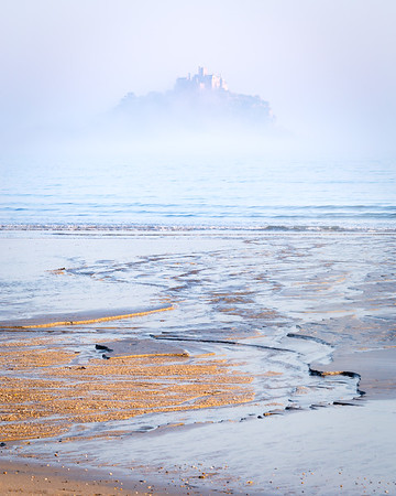 Sea Fog at St Michael's Mount