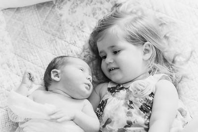 Niall Newborn Family Shoot