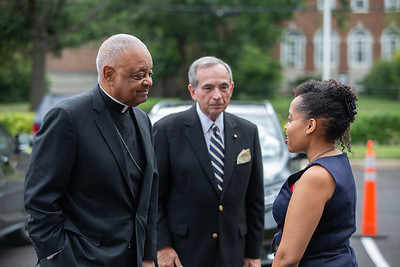 Archbishop Gregory Visits Providence Urgent Care Center