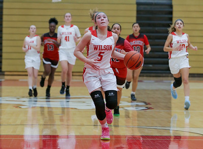 12/12/2019 Wilson Girls Basketball vs McCaskey