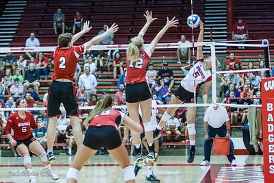 UW Sports - Volleyball - August 22, 2015