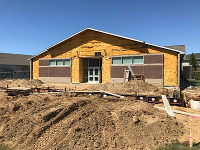 Construction at KCMS - Summer 2018