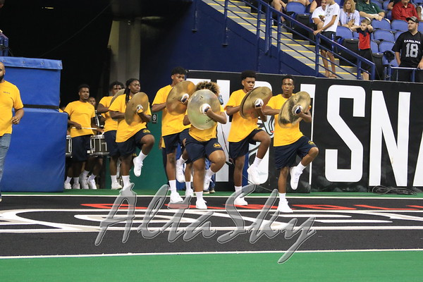 NAL CHAMPIONSHIP HALFTIME NC A&T DRUMLINE
