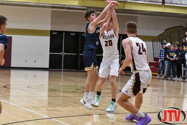 Columbia Central vs Western Boys Basketball 12-10-19