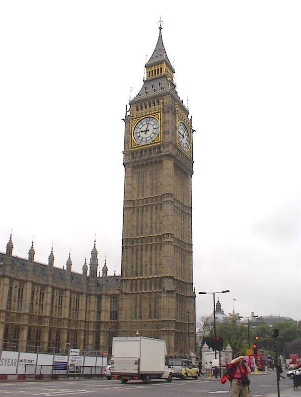 Big Ben in Parliament Tower, London