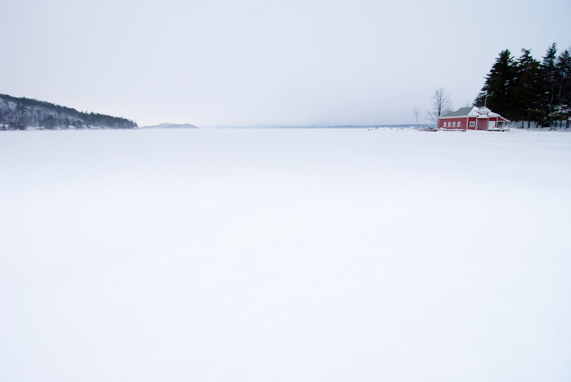 Lake Winnipesaukee, New Hampshire February 2013