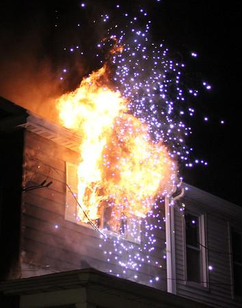 House Fire, 317 Glenwood Avenue, Tamaqua (11-23-2013)
