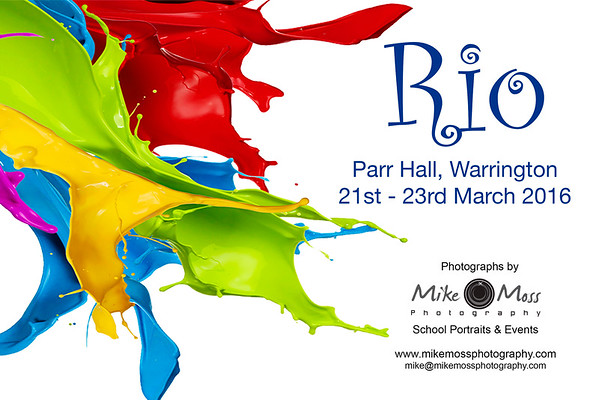 Rio at the Parr Hall