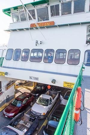 Mukilteo to Clinton Ferry
