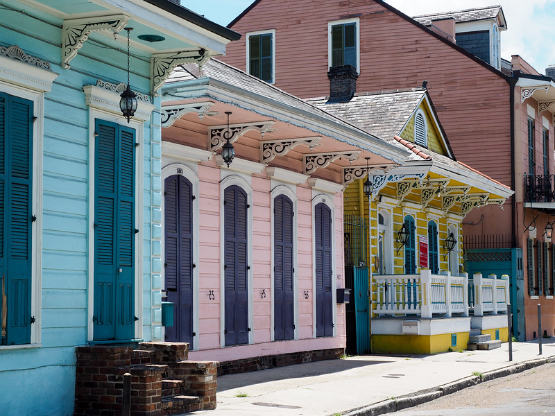 St. Ann Street in New Orleans
