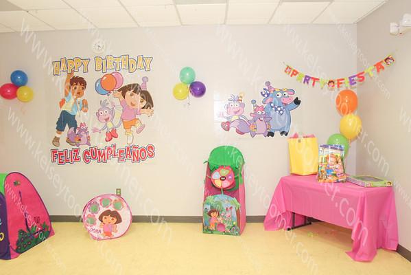 Kelis 2nd Dora Birthday Party