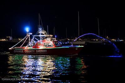 Newport Harbor Christmas Boat Parade